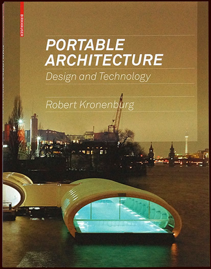 portable architecture, architecture book for birkhäuser publishers – esther mildenberger, envision+