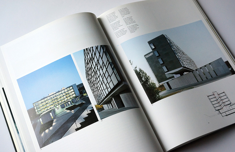 inside pages of the book corporate architecture - brian switzer, esther mildenberger, envision+