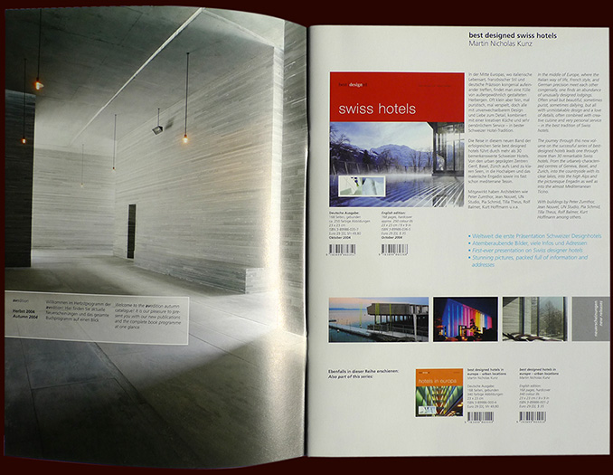 avedition program catalogs inside pages - esther mildenberger, brian switzer, envision+