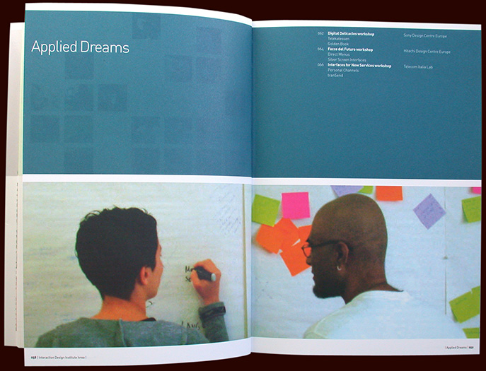 projektdarstellung, interaction design almanacco, idii, ivrea - esther mildenberger, envision+