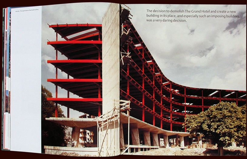 inside spread from the nestle special edition book: building on our foundations - esther mildenberger, envision+