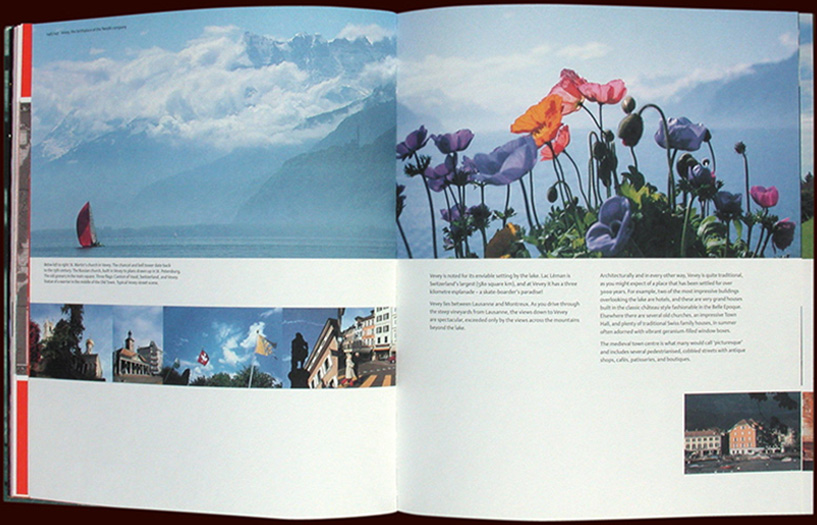 inside spread from the special edition nestle book: building on our foundations - esther mildenberger, envision+