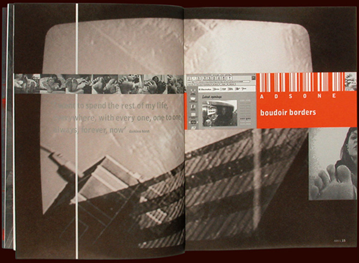 rca architecture catalogue - infinity-ville -inside pages - with nigel coates - esther mildenberger, envision+