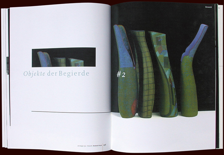 sein&sign art magazine inside pages - esther mildenberger, envision+